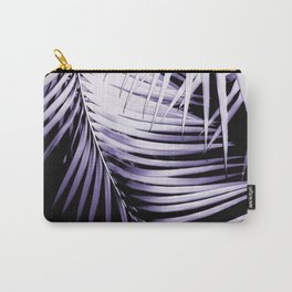 Palm Leaves Ultra Violet Vibes #3 #tropical #decor #art #society6 Carry-All Pouch