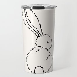 Bunny Nursery Art Prints, Baby Nursery Decor Travel Mug