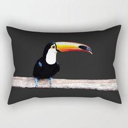 toucano black Rectangular Pillow