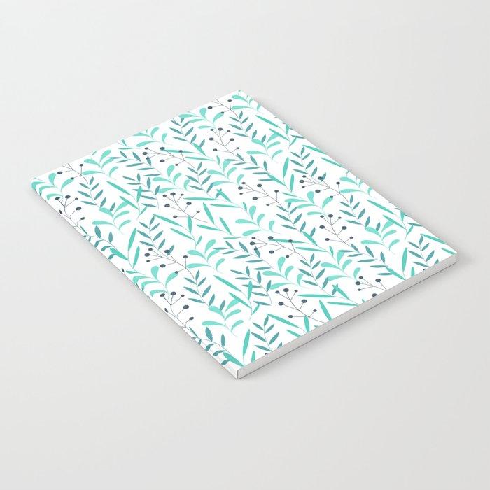 Leaves Pattern Notebook