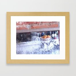 Cezanne's Bar Framed Art Print