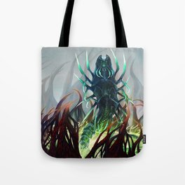Silver-Tongued Demon Tote Bag