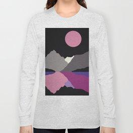 Moonlight On Lake Tanya Long Sleeve T-shirt