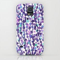 Purple Dots Drip Galaxy S5 Slim Case