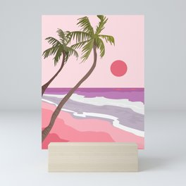 Tropical Landscape 01 Mini Art Print