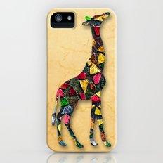 Animal Mosaic - The Giraffe Slim Case iPhone (5, 5s)