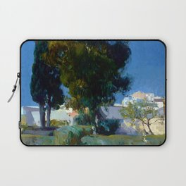 Joaquin Sorolla y Bastida Corner of the Garden, Alcazar, Sevilla Laptop Sleeve