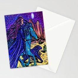 shaman woman Stationery Cards