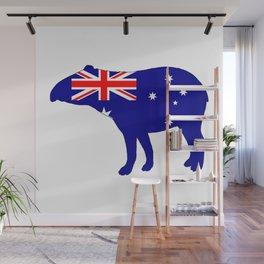 Australian Flag - Tapir Wall Mural