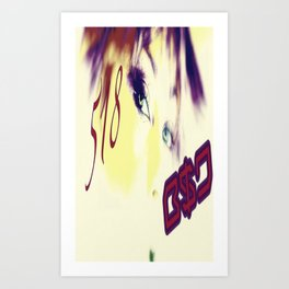 B$D 518 shout out  Art Print