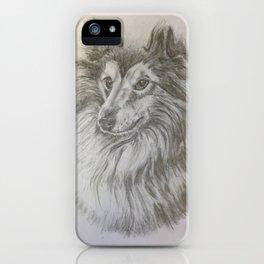 Shetland Dog iPhone Case
