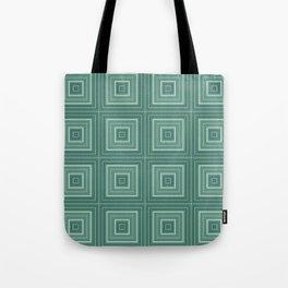 Green plaid  4 Tote Bag