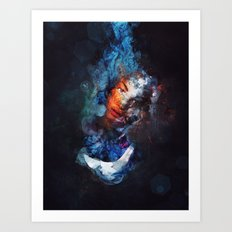 Tear Drop Art Print