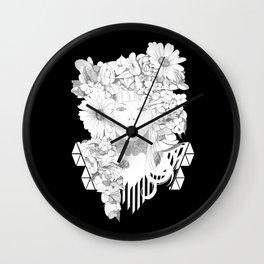 Flourishing Haze Wall Clock