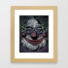 Killer Klowns from Outter Space Clown Framed Art Print