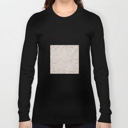 Marble White shinny stone Long Sleeve T-shirt
