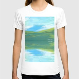 The Clearing With Reflection T-shirt