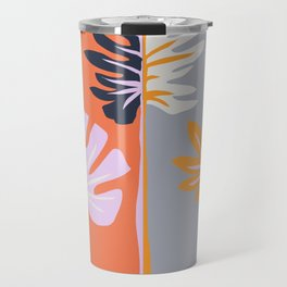 Double-sided leaves Travel Mug