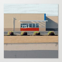 Drive-thru Canvas Print