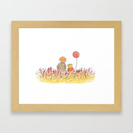 But I Found You Framed Art Print
