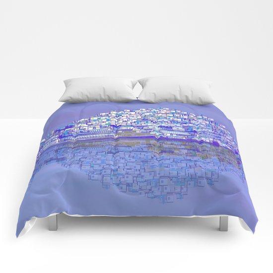 Mediterranean Village / Mojacar Comforters