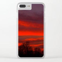 solis occasum in Sueuia Clear iPhone Case
