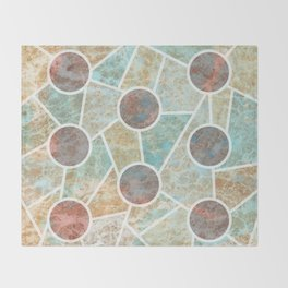 Gaudi´s view Throw Blanket