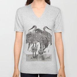 Birdhouses Unisex V-Neck