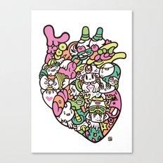 KOKORO - HEART Canvas Print