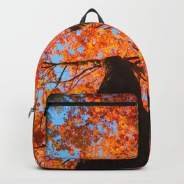 Flaming trees Backpack