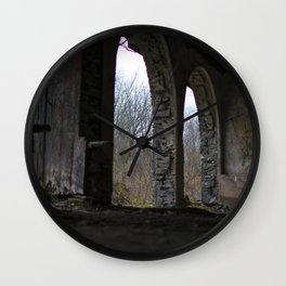 Ironton Trail Arched Doorways Wall Clock