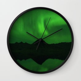 The Northern Lights 06 Wall Clock