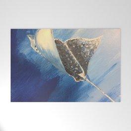 Manta ray Welcome Mat