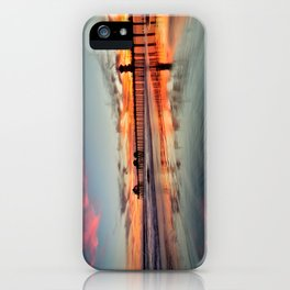 Huntington Beach Sunsets  8/5/15  iPhone Case