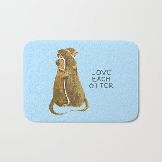Love each otter Bath Mat