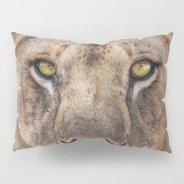 Lioness Portrait (Color) Pillow Sham