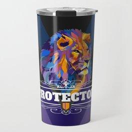Protector: Lion Travel Mug