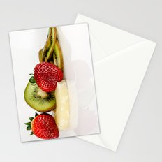 Exotic fruit Stationery Cards
