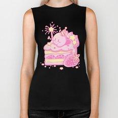 Kirby Cake Biker Tank