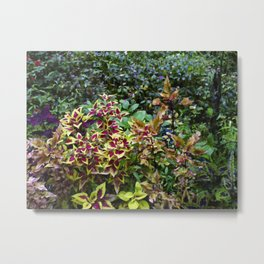 Floral Print 046 Metal Print