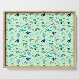 Sea Animals Serving Tray