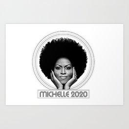 Michelle 2020 Art Print