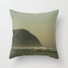 The Oregon Coast Throw Pillow