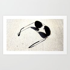 Perfect Shadow Art Print