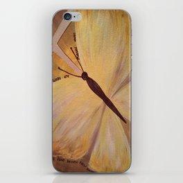 Butterfly Cross Easter iPhone Skin
