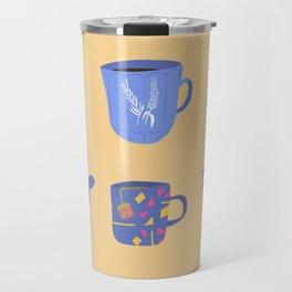 Cup of everything - Tea & Coffee print Travel Mug