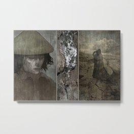 Land Splits Love Lost Metal Print