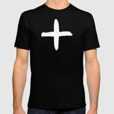 Positive Black MEDIUM Mens Fitted Tee