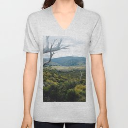 Cradle Mountain Boardwalk Unisex V-Neck