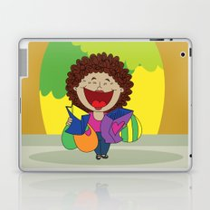 Inspired on my mom, when she just can't stop laughing!   Laptop & iPad Skin